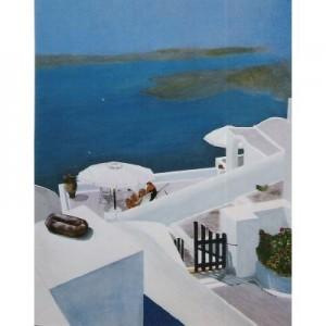 Art Card Santorini