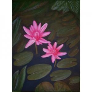 Art Card Lotus Flower