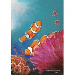 Art Card Clown Fish