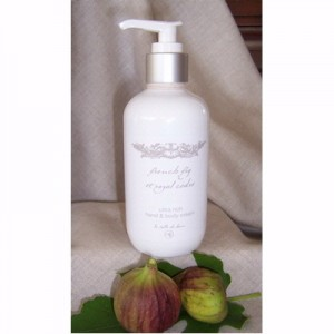 Hand & Body Cream 250ml French Fig & Royal Cedre