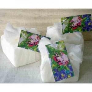 Guest Soap Counter Pack(24) Vintage Violette Floral Tag