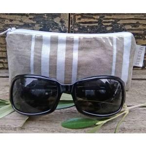 Spectacle or Sunglasses Case, St. Jean de Luz Taupe