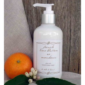 Ultra Rich Hand & Body Cream French Lime Blossom & Mandarin 250ml
