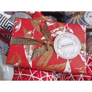Bath Soap Vintage Violette Gold & White Packaging