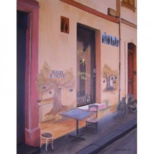 Art Card Huile d'Olive