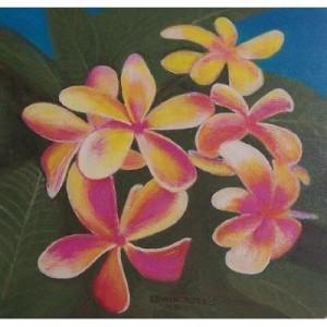 Art Card Frangipani