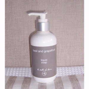 Liquid Soap, Basil & Grapefruit
