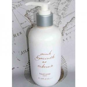 Liquid Soap 250ml Pink Hyacinth & Tuberose