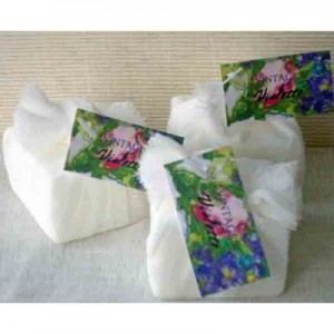 Guest Soap Counter Pack(24) Vintage Violette Floral Tag