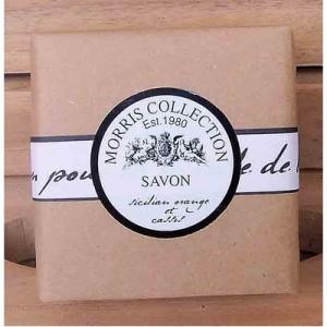 Bath Soap Sicilian Orange et Cassis 150g Natural Packaging
