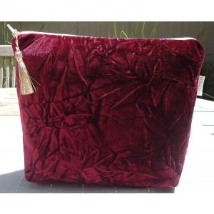 Clutch Toiletry Bag Velvet