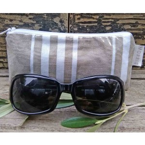 Spectacle or Sunglasses Case, St. Jean de Luz Taupe