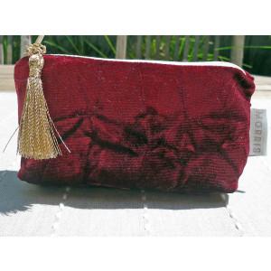 Costmetic Bag  Velvet Small