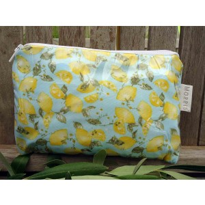 Cosmetic Bag Small, Citrus Tango