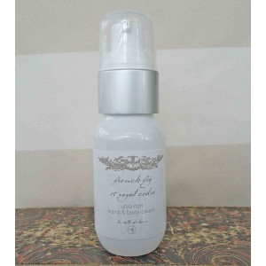 Purse Size Hand & Body Cream, 50ml,French Fig et Royal Cedre