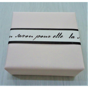 Bath Soap French Lime Blossom et Mandarin Just Pink