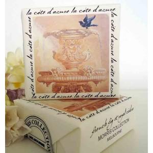 Bath Soap, French Fig & Royal Cedre Blackbird Design